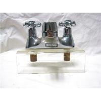 Buy cheap Chrome Plated Kitchen Pull Out Faucet / 2 Hole Kitchen Taps For Hot & Cold Water from wholesalers