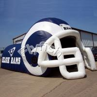 Buy cheap inflatable football helmet tunnel from Wholesalers