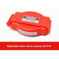 Buy cheap Safety Production Tough LOTO Equipment , Adjustable Gate Valve Lock Out from Wholesalers
