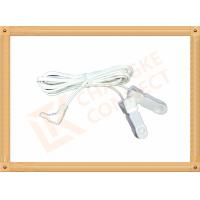Buy cheap Surgical DC 2.35mm Tens Unit Replacement Leads Wire To Clip 3m from Wholesalers