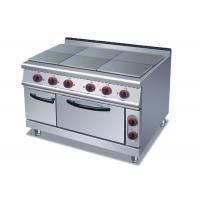 Buy cheap Professional Cooking Lines 1 / 4 / 6 Plates Electric Stainless Steel Hot Plate from wholesalers