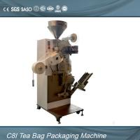 Quality Single Chamber Tea Bag Packing Machine For Inner Teabag With Thread , Tag wholesale