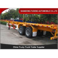 Buy cheap Container chassis trailer , skeleton semi trailer 2 axles 20ft and 40ft with warranty and parts from wholesalers