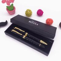 Buy cheap top sale luxury double metal pen gift box packing from wholesalers