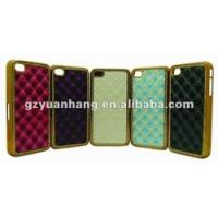 Buy cheap Protective Back Case For Iphone 4S 4GS With Leather from wholesalers