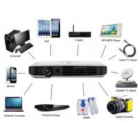Buy cheap Home Theater Bluetooth DLP 3D WIFI Projector , Mini 1080P Full HD Beamer from Wholesalers