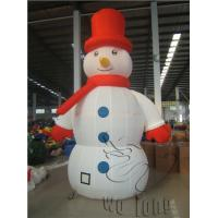 Buy cheap Commercial 2014 christmas decorations snow globe inflatable inflatable christmas snowman from Wholesalers