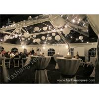 Buy cheap Beautiful Transparent PVC Cover Aluminum Alloy Frame Luxury Outdoor Marquee Tent For Wedding from Wholesalers