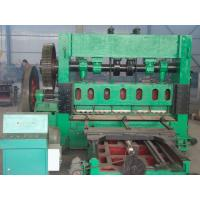 Buy cheap Durable Expanded Mesh Machine , Heavy Duty Expanded Metal Equipment For Road Protection from Wholesalers