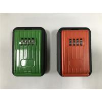 Buy cheap Outside Security Digital Key Safe Lock Box / Metal Key Box Code Lock from wholesalers
