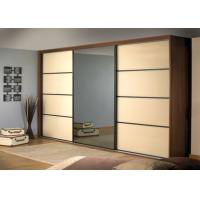 Buy cheap PRIMA Home Bedroom Closets And Wardrobes Hinged Door With Mirror , 600mm Deep from Wholesalers