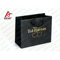 Buy cheap Hot Stamping Printed Custom Paper Shopping Bags For Retail Store Medium Size from Wholesalers