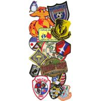 Quality good design embroidery patch wholesale