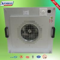 China Laboratory Ventilation System FFU Exhaust Fan Filter Units With Hepa Filters on sale