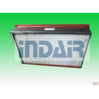 Buy cheap SUS 304 Terminal HEPA Filter High Temperature Resistance For Electronics from wholesalers