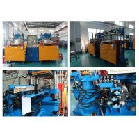 Buy cheap 400 Ton Two Press Desigh Plate vulcanzing Machine For Making Rubber Dust Cover from wholesalers