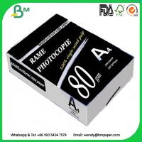 Quality Multipurpose Double A4 Copy 80 gsm / White A4 Copy Paper a4 paper 70g 80g for sale