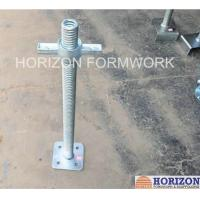 Buy cheap Swivel Base Plate Jack ACME Trapezoidal Thread For Cuplock Scaffold Systems from Wholesalers