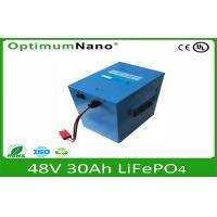 Buy cheap 48V 30AH LiFePo4 Motorcycle Battery,Lithium Motorcycle Batteries from Wholesalers