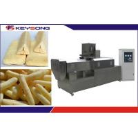 Buy cheap Corn Extruder Machine / Food Extrusion Equipment Auto - Temperature Controlling System from wholesalers