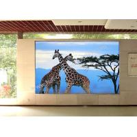 Buy cheap Slim P5 1300cd / ㎡ Led Advertising Screen Board Install In Building FaçAde from Wholesalers