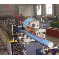 Buy cheap Lock Seam Downspout Roll Forming Machine For Rainwater Downpipe , Rain Gutter from Wholesalers