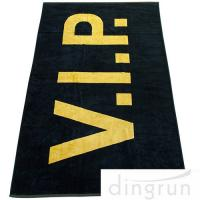Quality Large 100*180cm Custom Printed Beach Towels , Oversized Pool Towels Environment Friendly wholesale