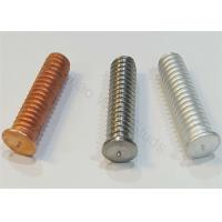 Buy cheap Coppered Steel Threaded Stud Welder Pins 1/4