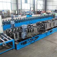 Punching Mould Cable Tray Roll Forming Machine , 9 Rollers Roll Forming Equipment
