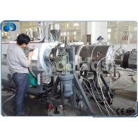 Buy cheap 16~800mm HDPE Pipe Manufacturing Machines Single Screw Extruder With PLC Control from Wholesalers