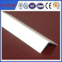 Buy cheap extruded profile aluminium angle for industry using drawings design from Wholesalers