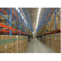 Buy cheap Heavy Duty industrial Steel Racking Systems for warehouse , Blue / Orange from Wholesalers