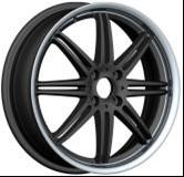 China Chromed Aluminum Alloy Wheels , Replacement Car Alloy Wheels on sale