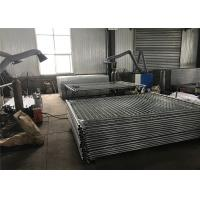Buy cheap Portable Aluminum Fence Temp Fence Panels For Residential / Commercial Building from Wholesalers
