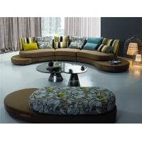 Buy cheap Italian Style Round Modern Fabric Sofas , Dongguan sofa supply from Wholesalers