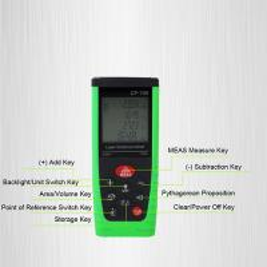 Buy cheap Mini Size Digital Laser Distance Meter Build Tool , 80m Long Range Rangefinder from wholesalers