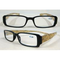 Black Frame Yellow Arm Foldaway Reading Glasses With Spring Hinge BP-4455