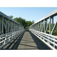 Buy cheap 100 Meters Large Span Delta Frame Bridge Q345B Steel With Hot Dip Galvanized from Wholesalers