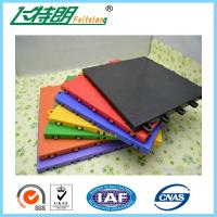 Buy cheap Non - Slip Rubber Interlocking Playground Matting Polypropylene Flooring from Wholesalers