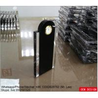 Buy cheap Custom Simple Acrylic Shoe Box Trophy Award With Clock For Home Decoration from Wholesalers