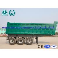 Buy cheap Reliable Structure Hydraulic Square Tipping Trailer , Heavy Truck Trailer from Wholesalers