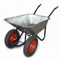 Buy cheap Double Wheels Wheelbarrow (WB6404HD) from Wholesalers