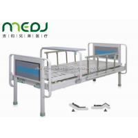 Buy cheap Semi Fowler Manual Hospital Bed , MJSD06-03 Two Cranks Hospital Patient Bed from Wholesalers