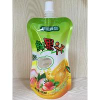Buy cheap Spout Pouch Stand Up Clear Drink Liquid Pouch Packaging For Food Industrial from wholesalers