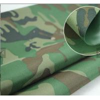 Buy cheap PU Coated Camouflage Lightweight Tent FabricFor Military Defense And Aviation from wholesalers