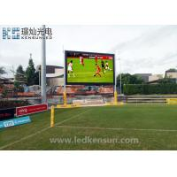 Buy cheap 2200CD P4.81mm MBI5020 led stadium display Full Color Waterproof Customized Size from Wholesalers