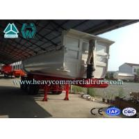 Buy cheap 45CBM Hydraulic Cylinder Tri-axle Tipper Semi Trailer Heavy Duty Transport from Wholesalers