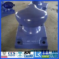 Double Bollard, Deck Mounted double bollard with BV LR ABS certification