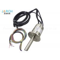 Buy cheap S136L Stainless Steel Through Bore Electrical Slip Ring 12 Signals Waterproof from Wholesalers