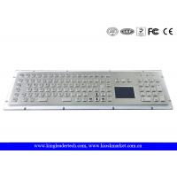 Buy cheap IP65 Rated Rugged Panel Mount Metal Keyboard With Numeric Keypad In Special Design from Wholesalers